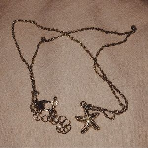 Starfish Necklace (gold)